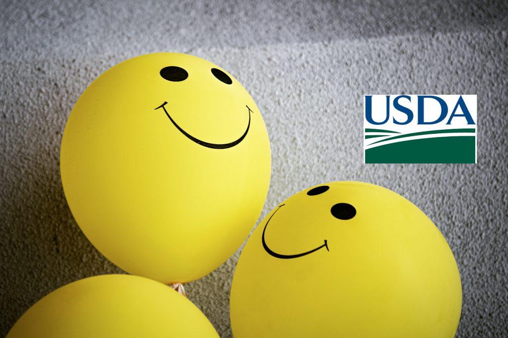 Promisorio primer informe del USDA 2021